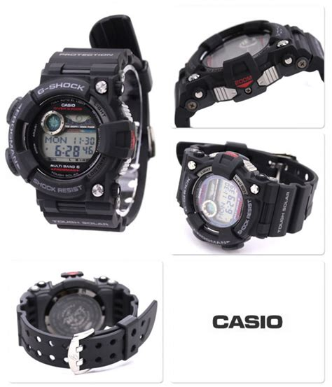 Casio G Shock Frogman Gwf D1000b 1jf With Water Depth Sensor Jdm Origi casio g shock gwf 1000 1jf frogman multiband 6 radio solar power from japan st 4971850437819 ebay