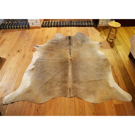 cowhide rug care cowhide rug 153 257 x 210cm pale
