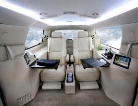 some photos of expensive luxury car interiors for