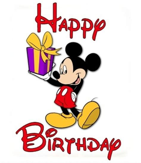 happy birthday mickey mouse design disney clip art free downloads clipart best