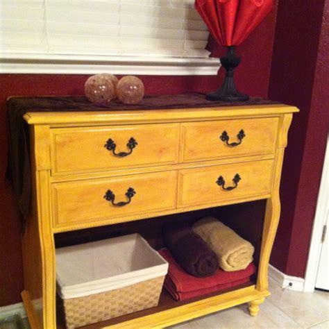 Dresser Renovation Ideas by Dresser Makeover Towel Storage Diy Furniture Ideas