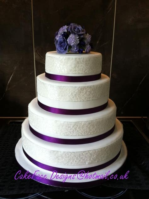 New Four Tier Wedding Cake Cakeface Wedding Cakes In Stoke On Trent And Staffordshire