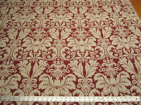 upholstery fabric charlotte nc 10 7 8 yards lacefield designs charlotte sangria damask