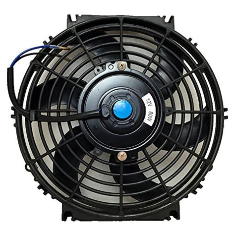 electric radiator fan mounting kit upgr8 universal high performance 12v slim electric cooling