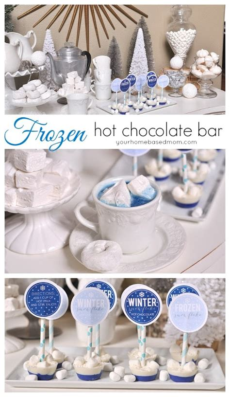 frozen gingerbread hot chocolate hot chocolate recipes the idea room