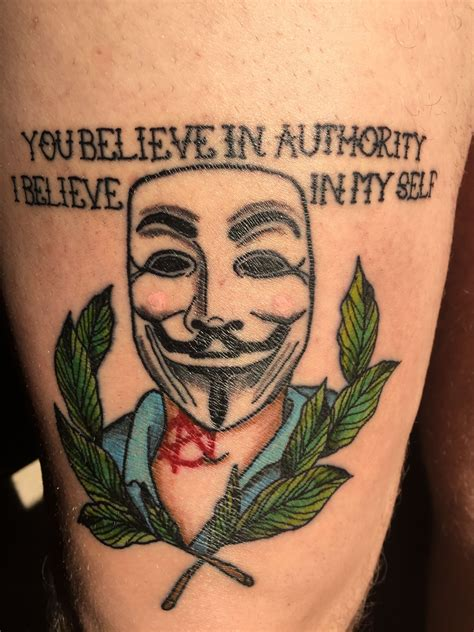 anarchist tattoo anarchy amazing tattoos