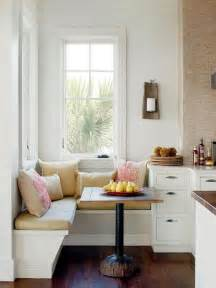 Cottage style open kitchen with french windows this dining