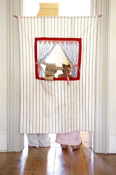 puppet show curtain doorway puppet theatre