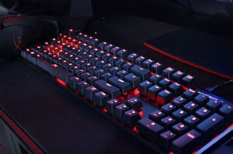 Keyboard Hyperx Pax West 2016 Hyperx Showcases New Gaming Headset And Keyboard