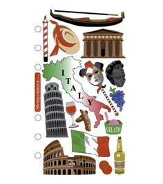 Stiker Ac Pissa stickers for scrapbooking italy scrapbooking paper