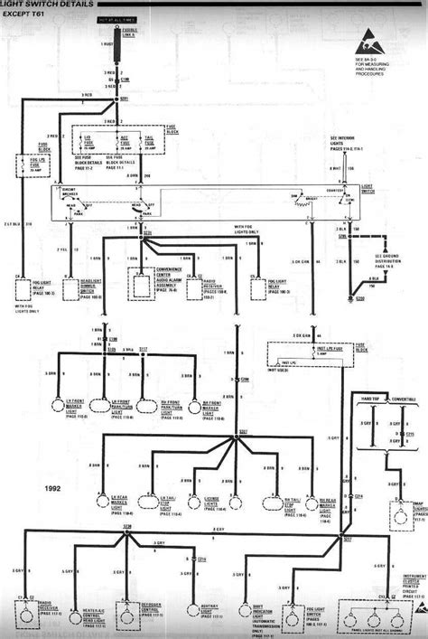 need 91-92 headlight wiring diagram - Third Generation F