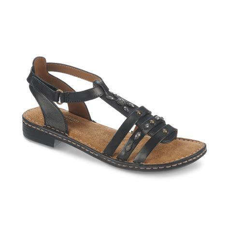naturalizers sandals naturalizer rhapsody sandals in black lyst