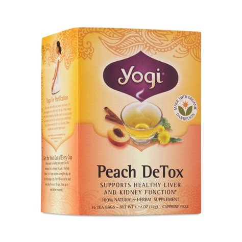 Yogi Detox Tea Healthy Cleansing Formula by Detox Tea By Yogi Tea Thrive Market