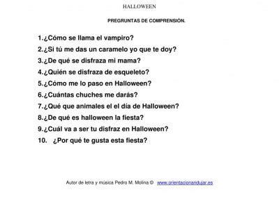 preguntas sobre peliculas de halloween volver al cole quot kaizen quot educacrossa canci 211 n y