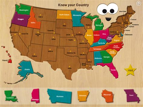 usa map puzzle wood puzzle usa map bestappsforkids