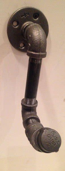 black pipe curtain rod industrial black pipe curtain rod bracket cutting edge