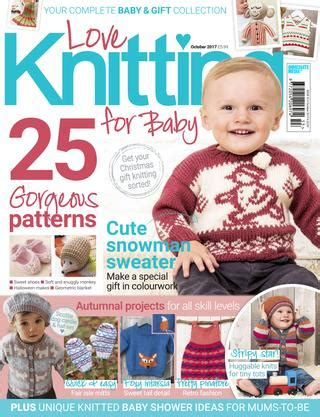 baby knitting magazine knitting for baby winter 2017 by immediate media co