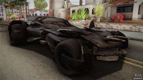 lamborghini hummer batmobile vs superman batmobile for gta san andreas