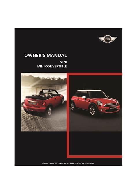 2011 Mini Cooper Owners Manual 2011 Mini Cooper Convertible Owners Manual Just Give Me