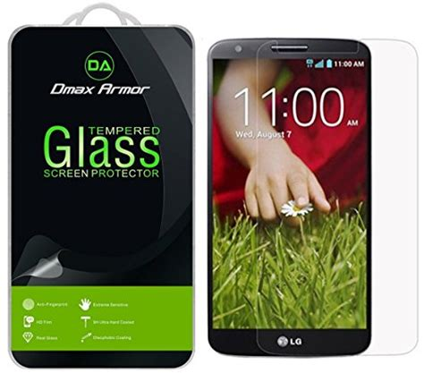 Hikaru Anti Shock Lg G2 Clear 2 pack lg g2 screen protector dmax armor tempered glass 0 3mm 9h hardness anti scratch