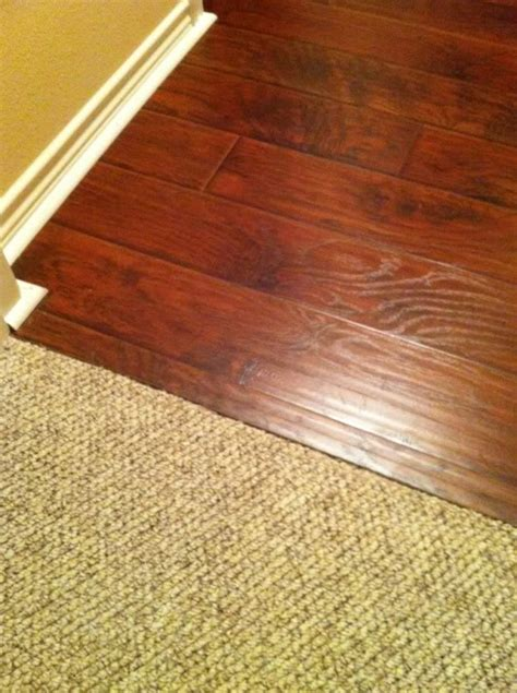 Where Transition From Laminate To Carpet - laminate flooring transition between laminate flooring carpet