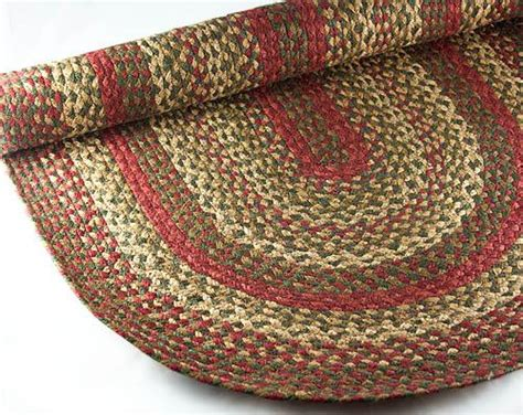 Braided Country Rugs by Braided Rug Pip Berry Green Country Primitive 8