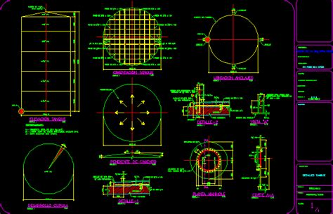 water tank dwg block  autocad designs cad