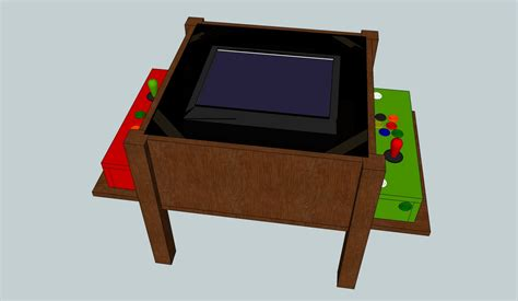 Arcade Coffee Table Diy Arcade Coffee Table
