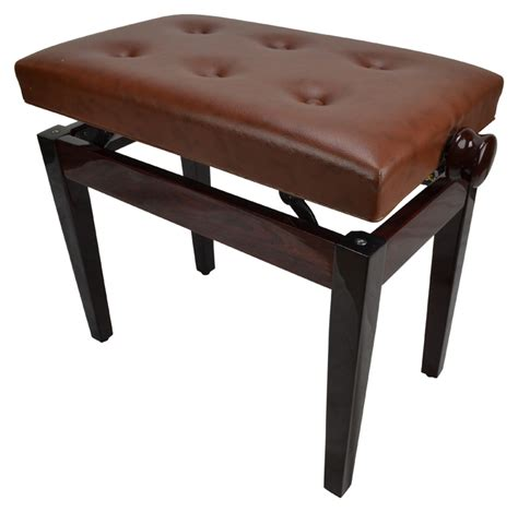 ebay piano bench piano bench high gloss dark brown by sotendo ebay