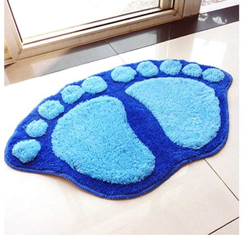 non skid bathroom rugs 400 600mm living dining bedroom car rug anti skid carpet footprint non slip bathroom carpets and