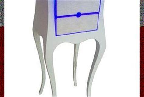 plexiglass illuminato comodino illuminato led plexiglas silicone bianco 2 0