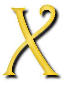 Letter Image Clipart Alphabet 13 Letter X