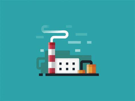 factory motion design by infographic paradise dribbble