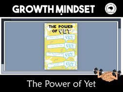 power   growth mindset  poster teaching resources