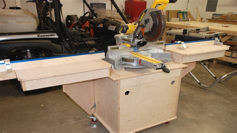 build  fine woodworking miter  station pt  youtube