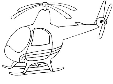 Helicopter Coloring Pages Coloringpages1001 Com Helicopter Coloring Page