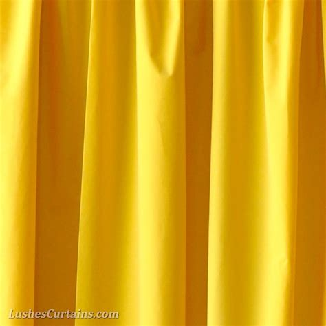 yellow drapes 10 ft high flocking velvet curtains panels 120 inch