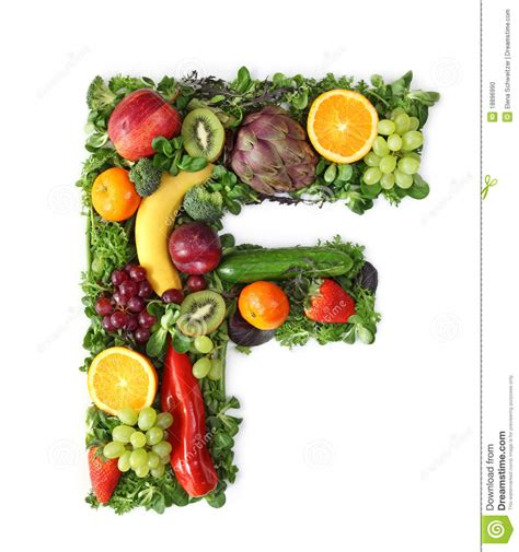 vegetables 10 letters fruit and vegetable alphabet stock photo image 18896990