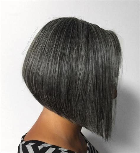 gray hair stacked bob 60 gorgeous gray hair styles bobs gray hair and hair style