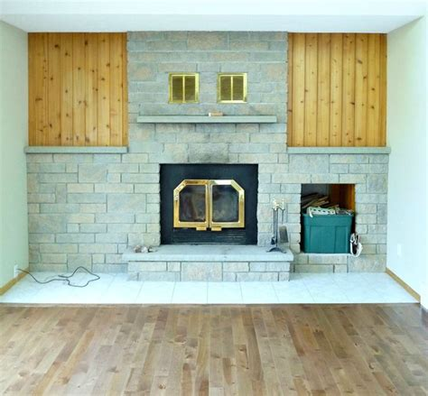 Fireplace Makeover Cost by Before After This Dramatic Fireplace Makeover Only Cost