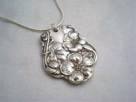 make jewelry from silverware 1000 ideas about spoon necklace on silverware