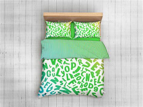 bedroom linen bedding sets bed linen mockup by goner13 graphicriver