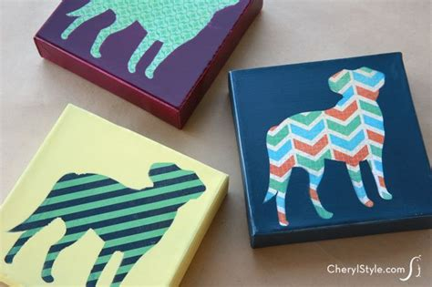 12 easy diy canvas crafts how to decorate your own blank canvas projects
