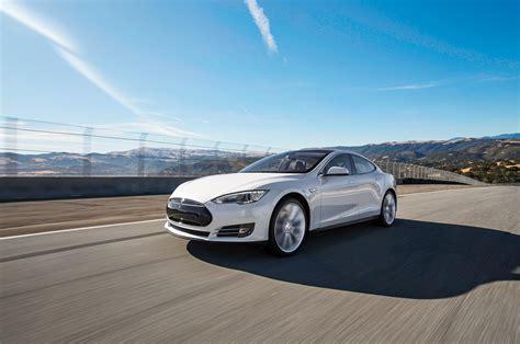 Tesla S P85 2013 Tesla Model S P85 Arrival Motor Trend