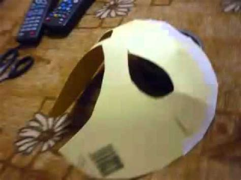 How To Make A Mysterio Mask Out Of Paper - mask tutorial mask