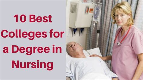 Nursing Diploma Programs In Ny by What Are The 10 Best Colleges For Nursing