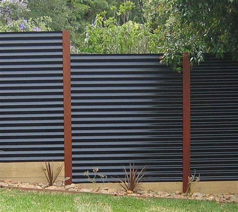 modern privacy fence modern privacy fence ideas for your outdoor space chain