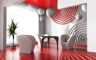 Red Home Decor by 28 Red And White Living Rooms