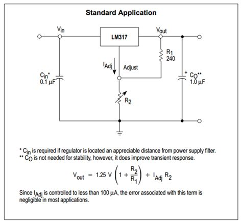 current limiting resistor pdf lm317t datasheet lm317t pdf pinouts circuit motorola gt freescale