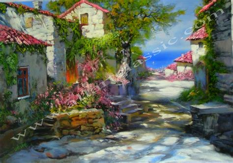 painting pictures paintings mediterranean view pictures to pin on